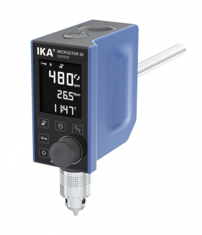 Ika MICROSTAR 30 CONTROL agitateurs a helices melange et dispersion imlab